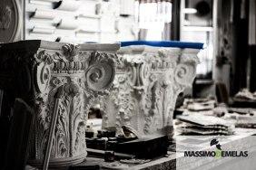 U.A.D.G. - Laboratorio di gesso - Reportage Massimo Demelas